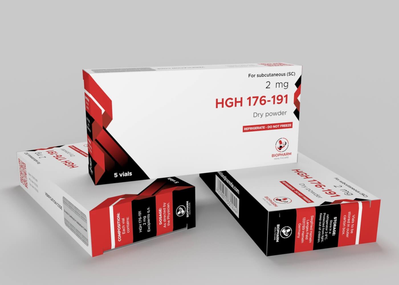 HGH 176-191